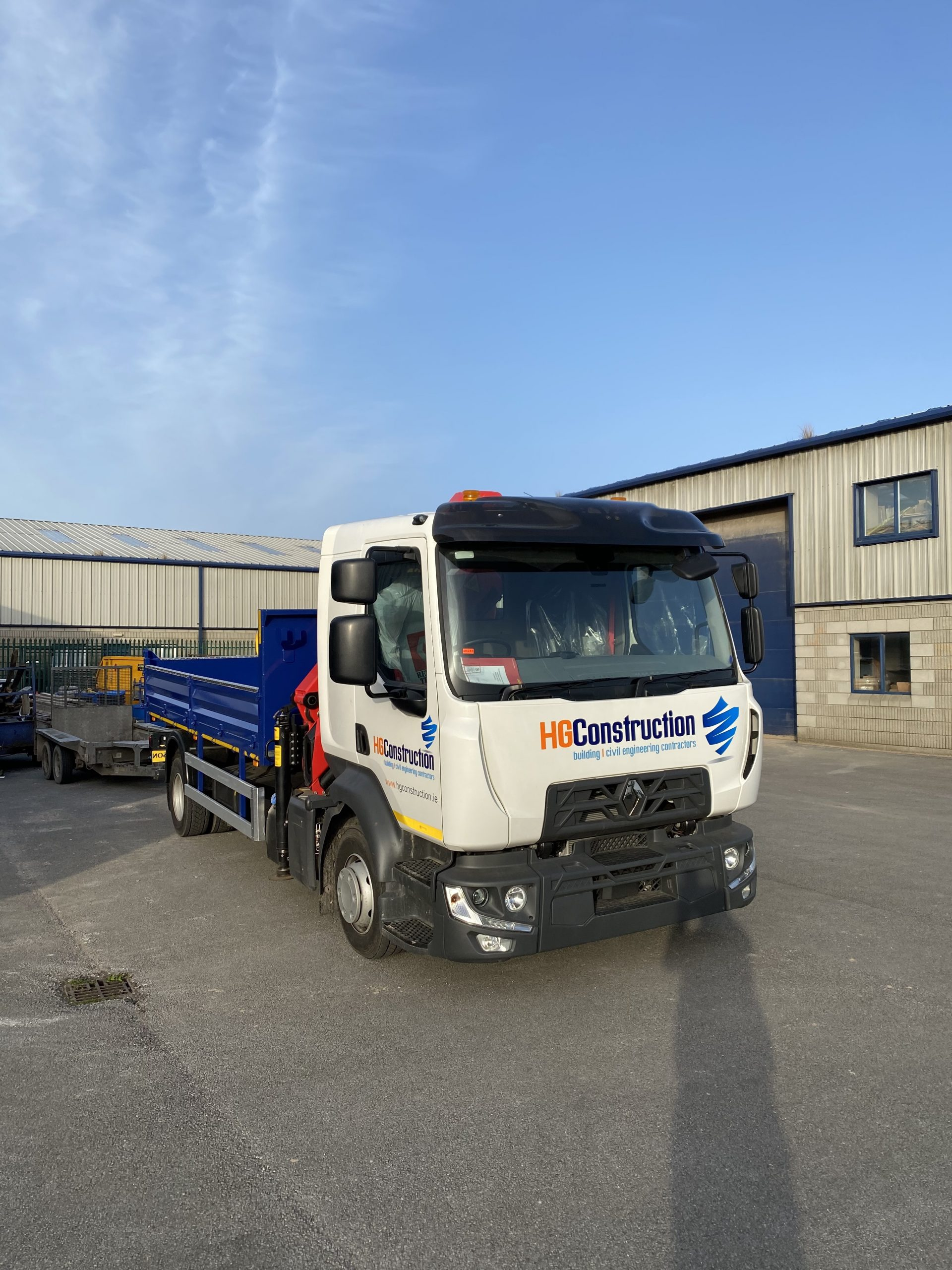 Photo of lorry – Latest addition to HG Fleet